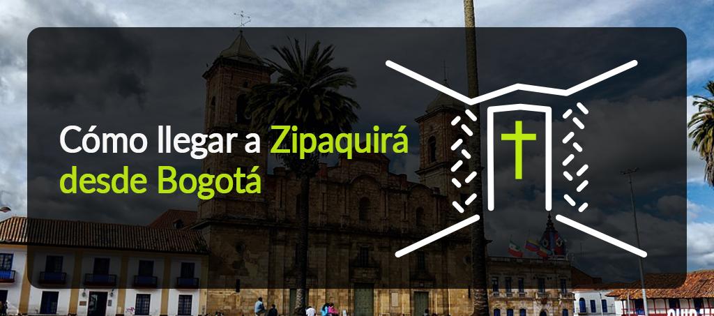 Cómo llegar a Zipaquirá