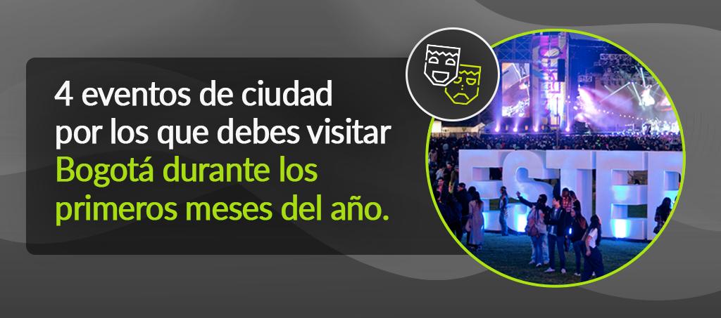 Bogota eventos primeros meses del año