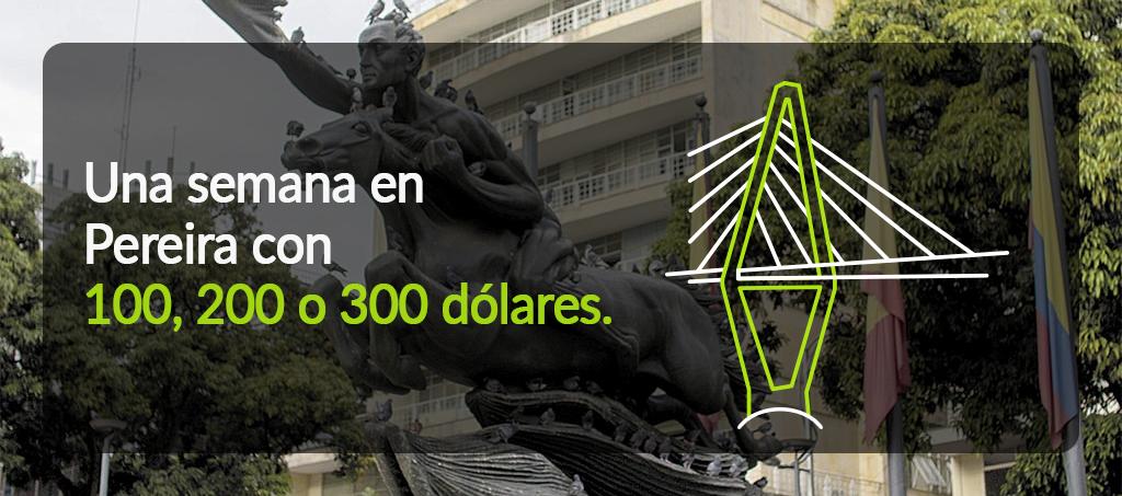Pereira con 100 USD