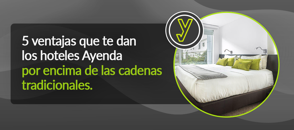 5 ventajas hoteles Ayenda