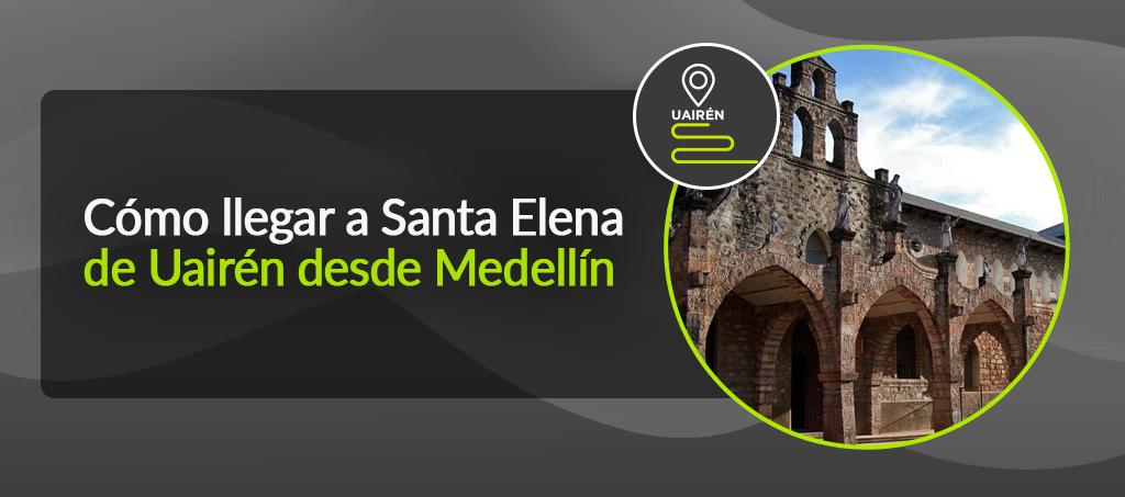 Cómo llegar a Santa Elena desde Medellín
