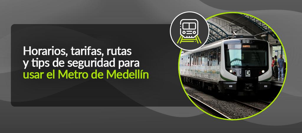 Horarios, tarifas, rutas y tips de seguridad para usar el Metro de Medellín