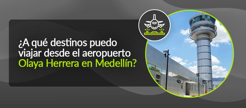 Aeropuerto Olaya Herrera en Medellín