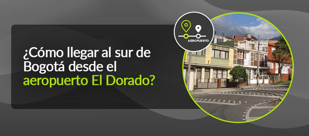 Sur de Bogotá aeropuerto El Dorado