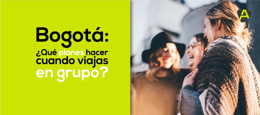 viajar en grupo a Bogotá